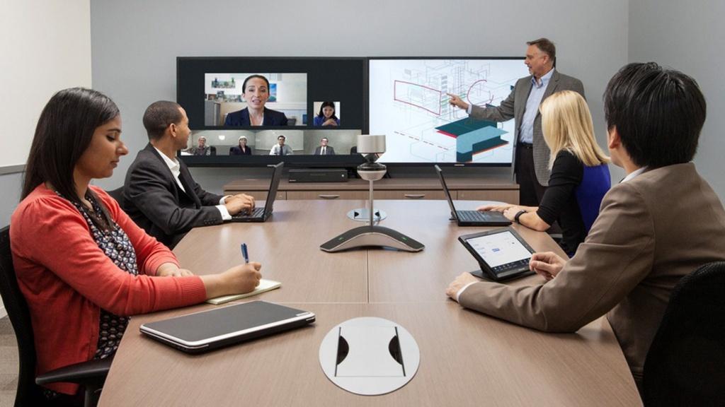 Системы совместной работы - видеоконференцсвязь